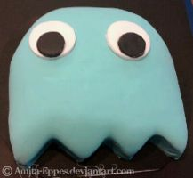 Pacman Cake 3 by Amita-Eppes