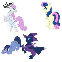 Various MLP Doodles by RhythmGeneration