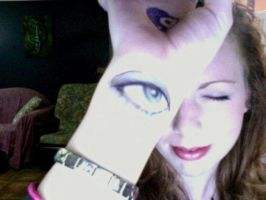 I see you through my wrist by Scarlettvoodoo