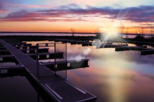 Aylmer's marina Photomanipulated by EaglesPhotography