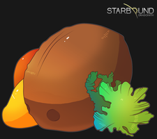 Starbound - Agriculture (Gillian) by Dragonith