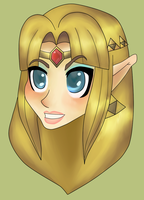 Princess of Hyrule by Chroma-Hex