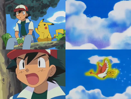 Pokemon - Ash Sees Ho-Oh Again by dlee1293847