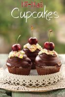 Hi-hat chocolate cupcakes by kupenska