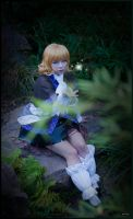 Parsee while practicing by nuramoon