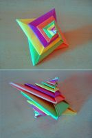 Origami spiral by YARIN108