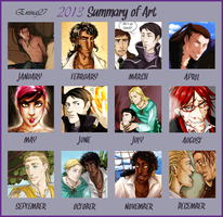 Art Summary 2013 by Eninaj27