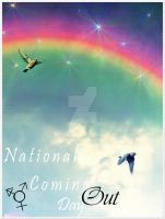 National Coming Out Day by KipetuAkora
