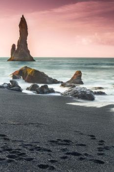 Reynisdrangur Sea Stacks, Iceland by cwaddell