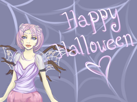 Happy Halloween by ChamomileCatastrophe