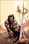 John Carter : Warlord Of Mars # 4 Variant cover by panelgutter