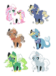 Pony adopt [open] reduced price by Piko-ka
