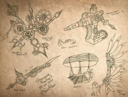 Steampunk Practice 01 by Paulcellx