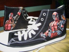 Deadpool Shoes by Cerestal