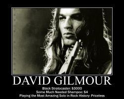 David Gilmour Motivational by sketcheroftoast