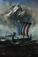 The Longships by Alegion