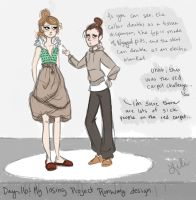 Day 16: My Losing Project Runway design by liliribs
