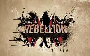 3D Rebellion Typography by Candido1225