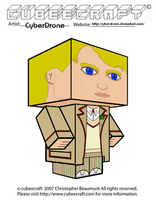 Cubeecraft - The 5th Doctor by CyberDrone