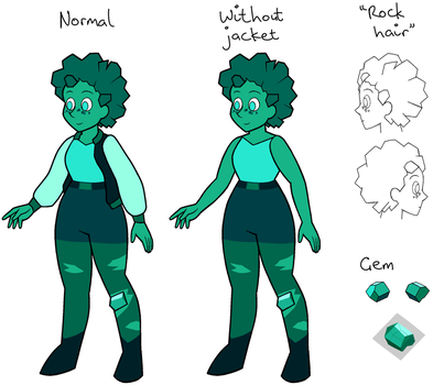 Dioptase (updated) by SmudDragon
