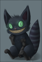 Little Cheshire Cat by AccursedAsche