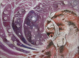 Emotional Landscapes ACEO by Hiidenhukka