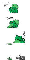 bulbasaur gives birth by Voxsound