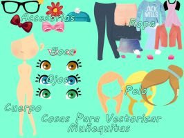 Pack Para Vectorizar doll by JaviTinistaEditions