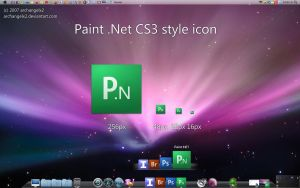 Paint .NET CS3 Style Icon by ArchangelX2