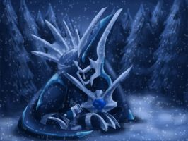 Dialga Commission by iesnoth