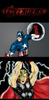 The Avengers- Earth's Mightiest by TEhopefulcomicartist