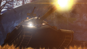 IS-7 in action by LordofCombine