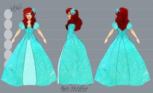 Disney's Ariel Turn Around by RuthMcGleish