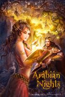 1001Arabian nights by ninejear