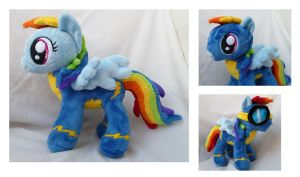 Rainbow Dash the Wonderbolt by caashley