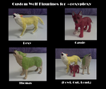 H.O.L. Figurines by Bottled-Rottweiler