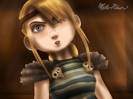 Hiccup and the Soup Bowl 12 by masterrohan