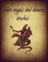 Fallen Angels and Demon Brushes by Dasha444