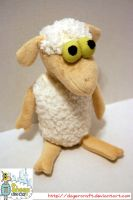 Sheep in the Big City Plush by DogerCraft