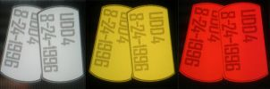 My Tags (Grey/Normal, Gold/Enemies, Red/Friendly) by Undeaddemon4
