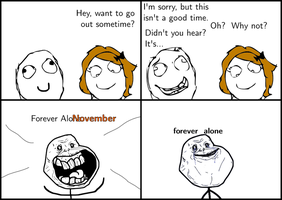 Forever Alonovember by takeshita-kenji