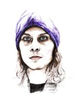 My drawing Ville Valo by xxxMurielxxx