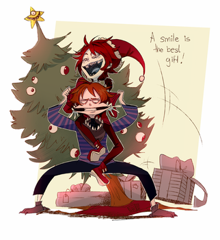 A smile is the best gift by Leaglem