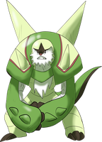 Chesnaught by shinyscyther