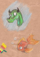 color doodles by Myth-Dragon