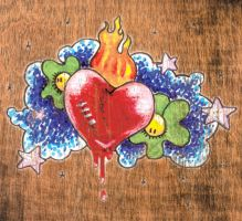 Blooding heart by daqueen-one