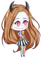 [Chibi Sketch] Liyaperfidious by C-Chesle