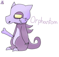 Fakemon... or FC? Orphantom by TeamRocketsPikachu