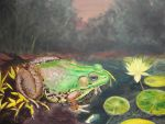 Frog Process 2 by CallieFink
