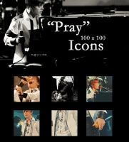 Justin Bieber: Pray Icons by AndSuddenly